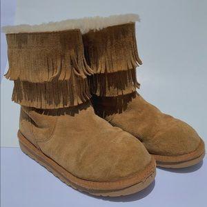 Fringed UGG Boots